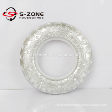 43mm inner diameter round shape high quality plastic curtain eyelets